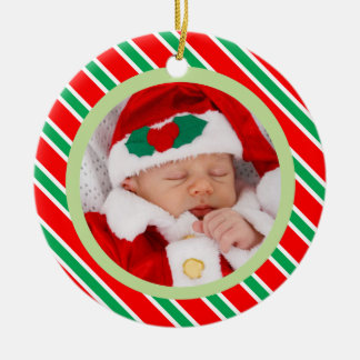 Template For Christmas Ornament For New Baby
