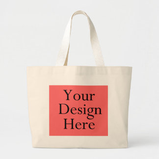 Template-Large-Tote-White Canvas Bags