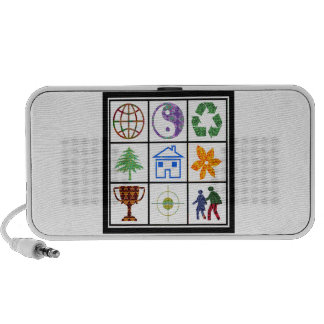 TEMPLATE Resellers Customers SYMBOLS motivational Portable Speakers