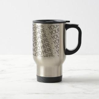 Template Travel Mug, Your Photo Here Stainless Steel Travel Mug