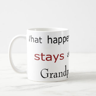 Template: What Happens at ...Stays at.... Coffee Mug