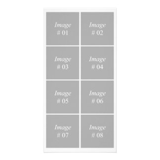 template with eight square images