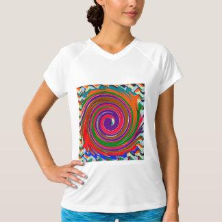 Template Women's Double Dry Training V-Neck T-Shir T-Shirt