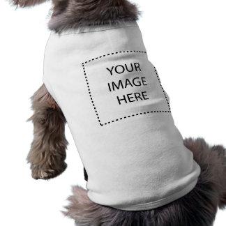 Templates Sleeveless Dog Shirt