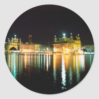 Temple Amritsar India applied Round Sticker