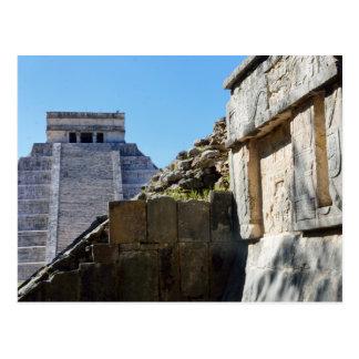 Temple at Chichen Itza Postcard