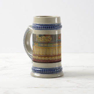 Temple Ceiling Gray /Blue 22 oz Stein