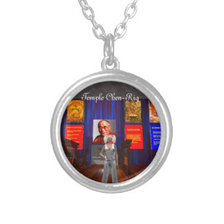 Temple Chen-Rig Ashram Silver Locket & Chain
