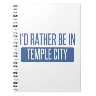 Temple City Notebooks