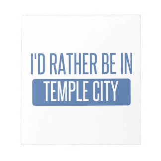 Temple City Notepad