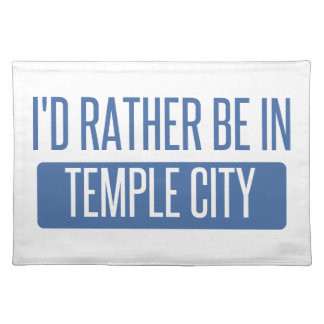 Temple City Placemat