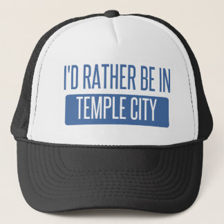 Temple City Trucker Hat