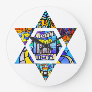 Temple Emanuel Star of David Clock