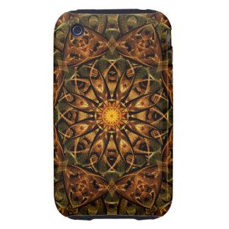 Temple Eye Mandala iPhone 3 Tough Cover