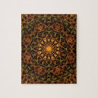 Temple Eye Mandala Jigsaw Puzzle