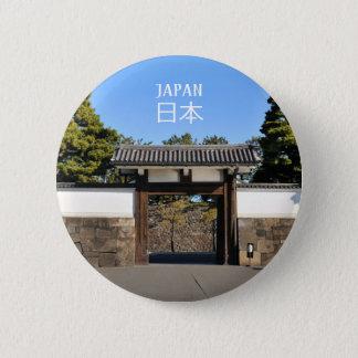 Temple gate in Tokyo, Japan 6 Cm Round Badge