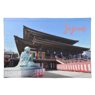 Temple in Tokyo, Japan Placemat