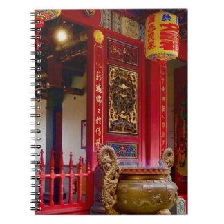 Temple in Yilan, Taiwan Notebook