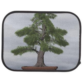 Temple juniper tree bonsai - 3D render Car Mat