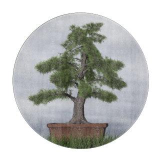 Temple juniper tree bonsai - 3D render Cutting Board