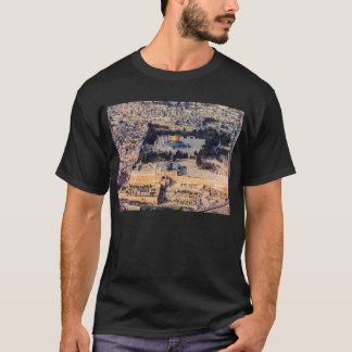 Temple Mount Old City Jerusalem Dome of the Rock T-Shirt