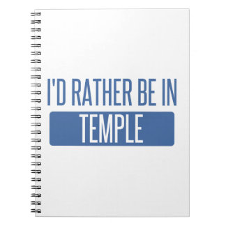 Temple Notebooks