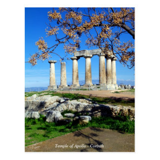 Temple of Apollo – Corinth Postcard