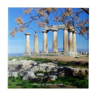 Temple of Apollo – Corinth Tile