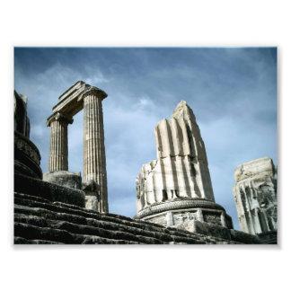 Temple Of Apollo, Turkey Art Photo