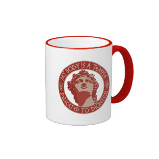 Temple of Dionysus Coffee Mugs