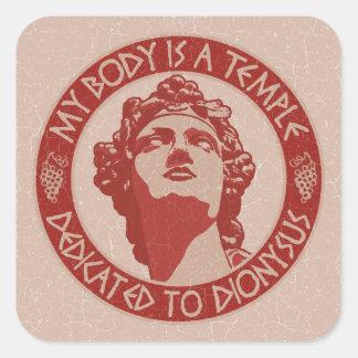 Temple of Dionysus Sticker