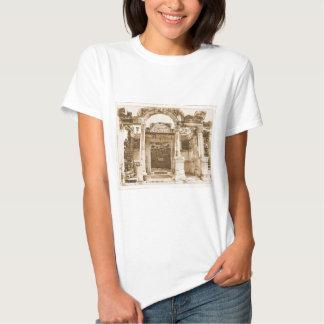 Temple of Hadrian in Ephesus VINTAGE PHOTOGRAPH Tshirt