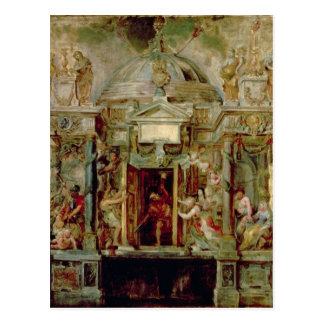 Temple of Janus, 1630s Postcard