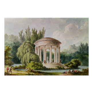 Temple of Love, Petit Trianon Poster