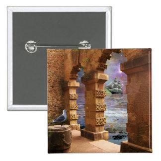 Temple of Poseidon Button