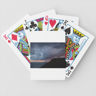 Temple of Poseidon Bicycle Playing Cards