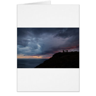 Temple of Poseidon Card