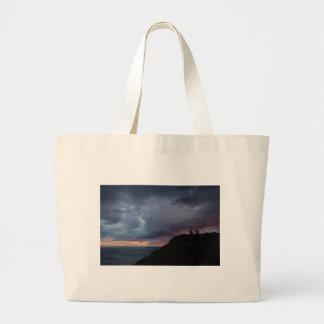 Temple of Poseidon Large Tote Bag