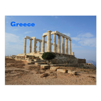 Temple of Poseidon Postcard