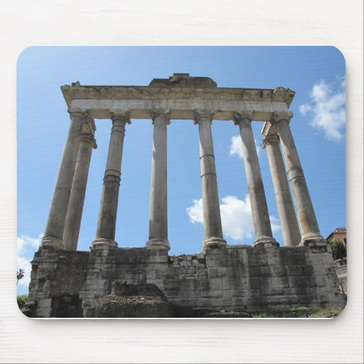 Temple of Saturn - early 4th century BC Mouse Mats