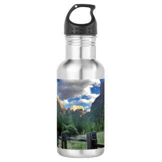 Temple of Sinawava Zion National Park Utah 532 Ml Water Bottle