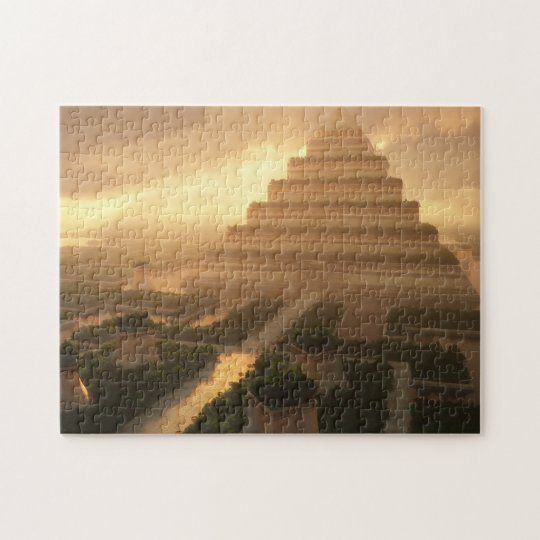 Temple of the Leaf (Day) Jigsaw Puzzle