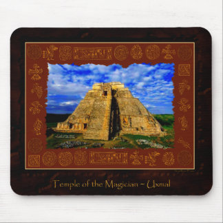 Temple of the Magician Mayan Gift item Mouse Pad