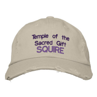 Temple of the Sacred Gift Ball Cap