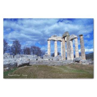 Temple of Zeus – Nemea Tissue Paper