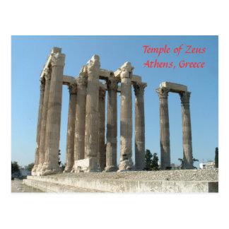 Temple of Zeus Postcard