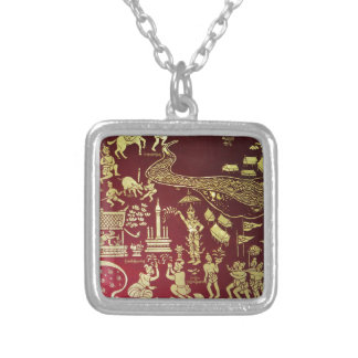 temple_panel.JPG Silver Plated Necklace