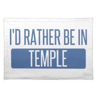 Temple Placemat