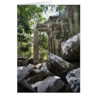 Temple Ruins Card