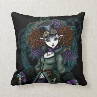 Temple Victorian Steampunk Vampire Angel Pillow